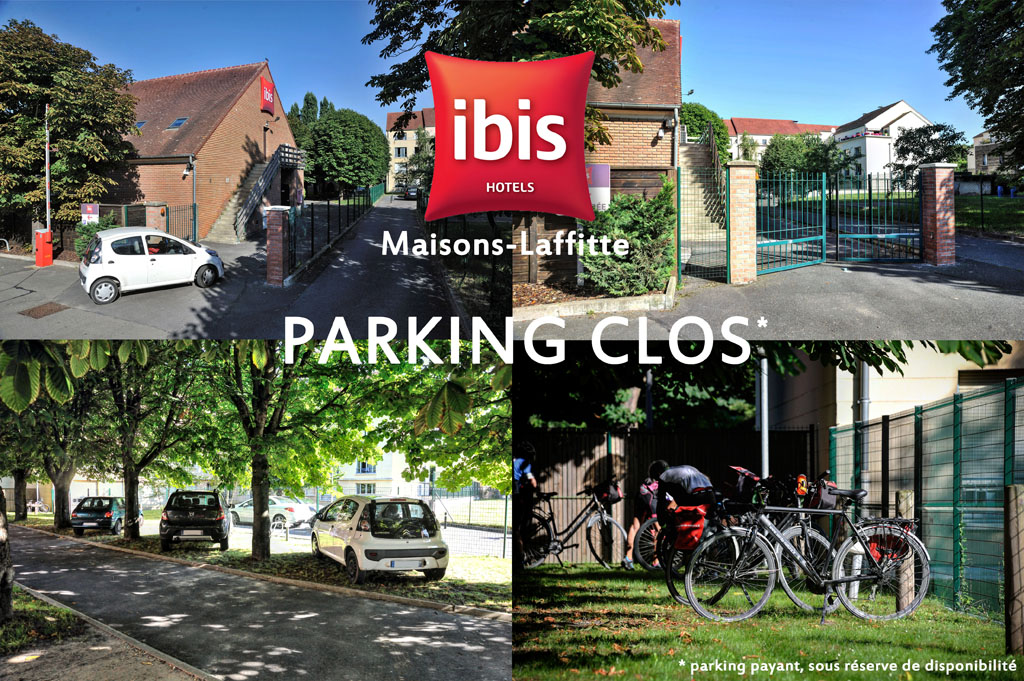 hotel restaurant ibis maisons laffitte parking ferme clos 01